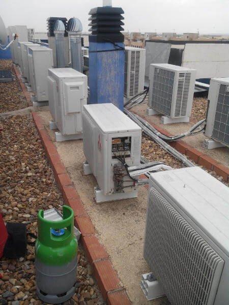 Mantenimiento de instalaciones de aire acondicionado en Ciudad Real